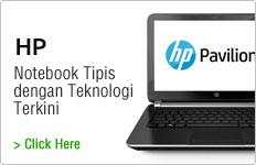 Notebook Tipis dengan Teknologi Terkini
