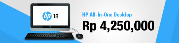 HP All-in-One Desktop