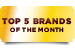 Top 5 Brand of The Month