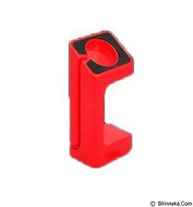 harga KIN e7 Docking Station Charging Stand For Apple Watch 42mm 38mm - Red Bhinneka.Com
