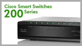 Cisco Smart Switches 200 Series